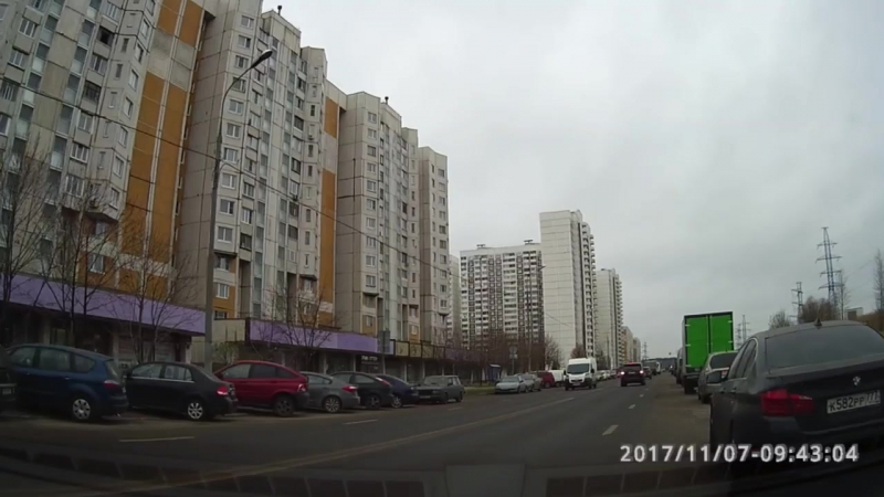 Развороты на ул. Старобитцевская. Часть№2. Экзаменационный маршрут Северное Бутово.