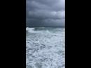 Шторм на море.о.Кипр