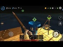 Ocean Nomad Raft Survival android game first look gameplay español