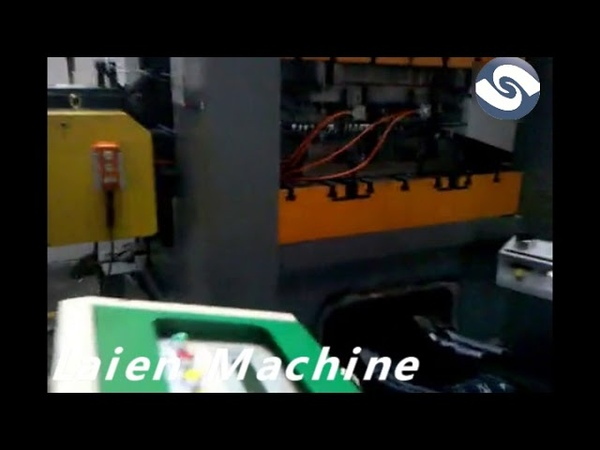 High speed precision punch press machine with straightener decoiler