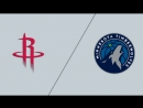 West 1st Round Game 3 21 04 2018 HOU Rockets @ MIN Timberwolves