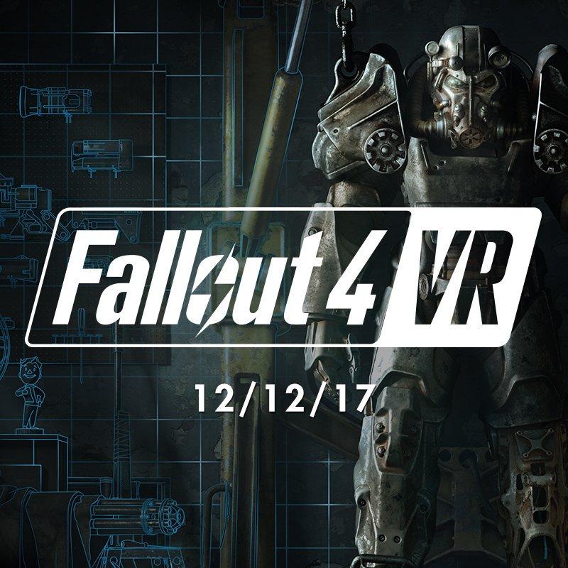 Сегодня выходит Fallout 4 VR