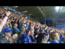 Viking clapping of Iceland fans