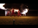 Огненное шоу в Темиртау