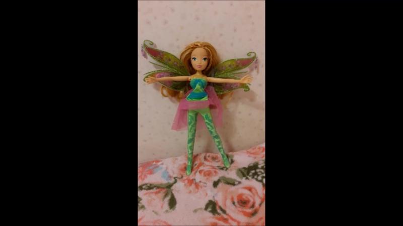 Winx transformation doll Flora bloomix