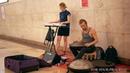 Ханг Волшебно музыка Давид Сваруп играет на ханге в Метро Москва Hang Playing Hang Drum