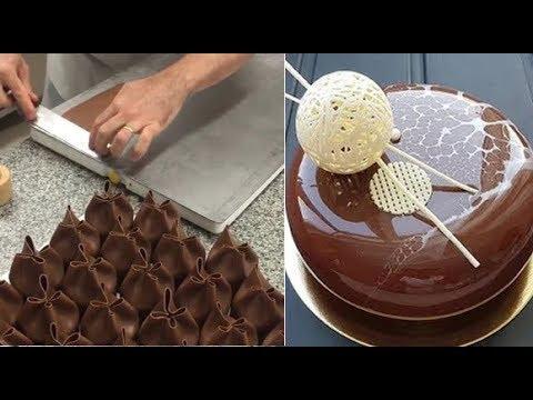 Como Hacer Pasteles de CHOCOLATE - Decoracion Pasteles Increibles 2017 l Video Satisfactorio