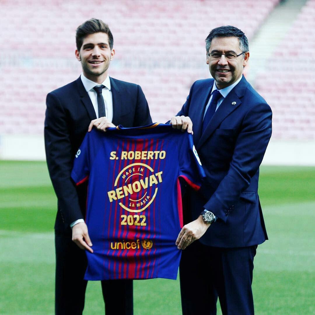 Rasman: Serxio Roberto bilan shartnoma 2022 yilga qadar uaytirildi