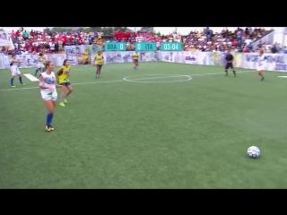 Neymar Jr's Five 2018 Women's Final Match. Brazil vs Italy. Five-A-Side Football Tournament