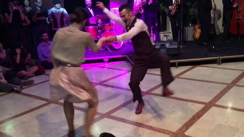 William Maéva, amazing Lindy Hop performance in Milan on April 1, 2017