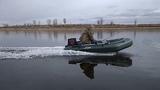 Salmon 330Р -Gladiator 9.8---Лодка Гладиатор 320К+NS 9.8