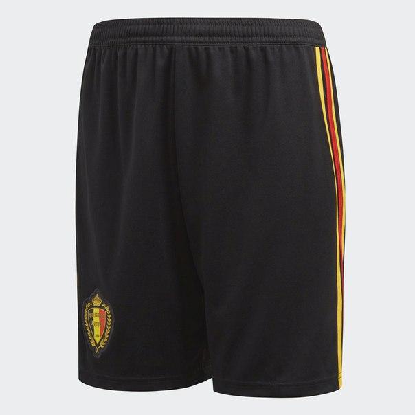 Гостевые игровые шорты сборной Бельгии