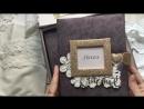 Большая коробочка с альбомом и коробочками сокровищ