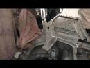 Toyota Auris The front end repair Ремонт задней части