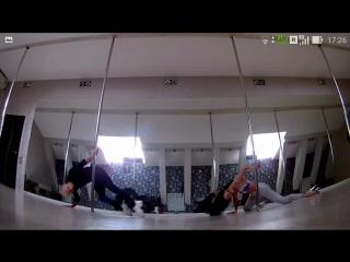 Stepan Butcykin & Masha Lu - Exotic pole dance