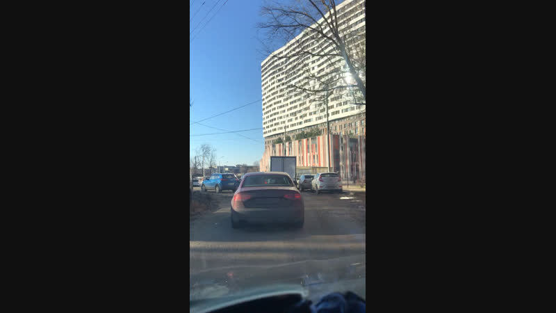 Дорога через Коммунарку к ЖК Москвичка