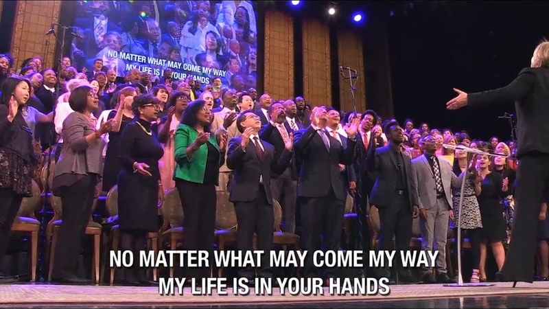 My Life is in Your Hands sung by the Brooklyn Tabernacle Choir in HD