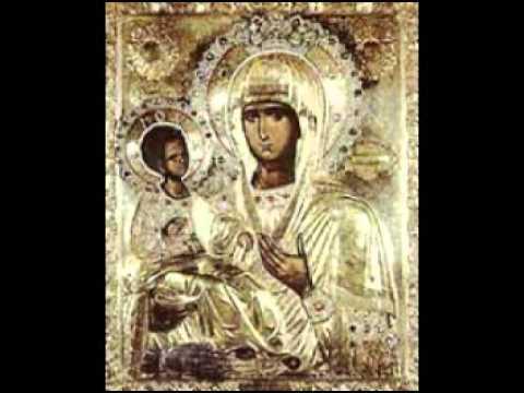 Byzantine Chant - Theotokarion Tone 5 - 6 Богородичник