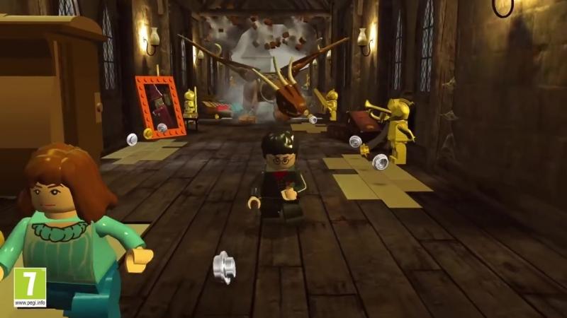 Анонсовый трейлер LEGO Harry Potter: Collection для Nintendo Switch и Xbox One!