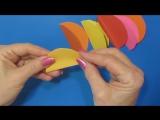 Супер-быстро Красивые ЦВЕТЫ! Как сделать ЦВЕТЫ СВОИМИ РУКАМИ Поделки из бумаги