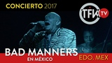 Bad Manners en vivo Me