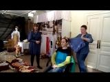 Мастер-класс по традиционным женским головным уборам Карелии. Фрагмент.
