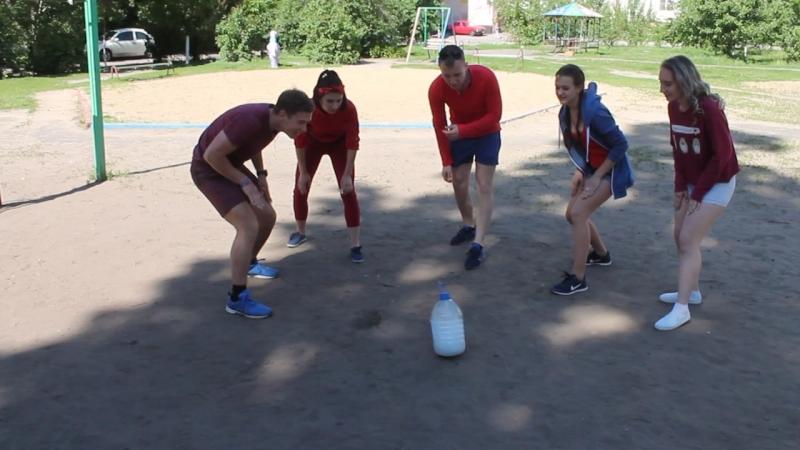 Flip bottle challenge (Команда Спасатели Малибу)