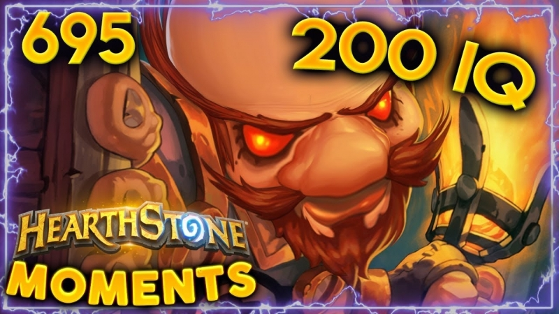 [Daily Hearthstone Funny Moments] Biggest IQ Clear!! | Hearthstone Daily Moments Ep. 695