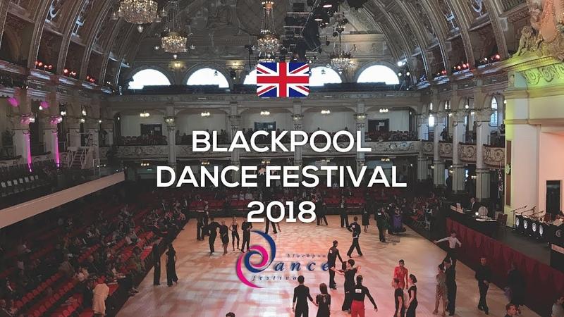 Langella Vaidilaite (ITA)   Blackpool Dance Festival 2018   WDC Professional Latin   SF-ChaChaCha