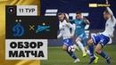 11-й тур. Динамо 1-0 Зенит