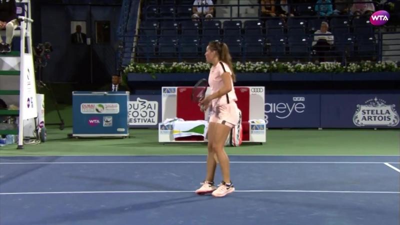 Daria Kasatkina vs Elena Vesnina