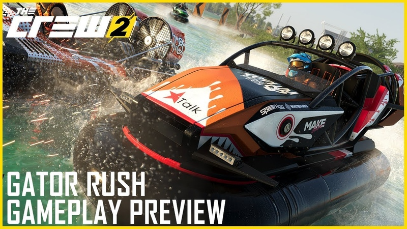 The Crew 2: Gator Rush's New Hovercraft Discipline | Gameplay Preview | Ubisoft [NA]