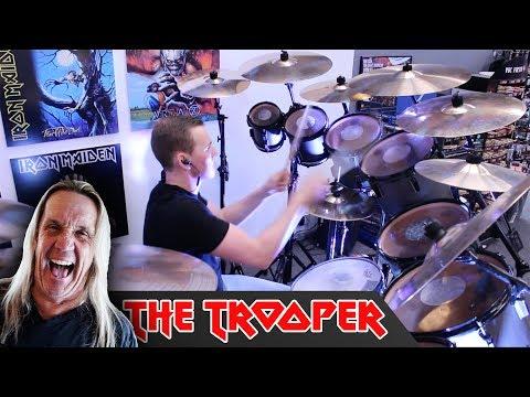 Iron Maiden - The Trooper (ON NICKO'S KIT!)