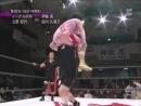 Eagle Sawai, Noriyo Tateno vs. Kaoru Ito, Kumiko Maekawa (2)