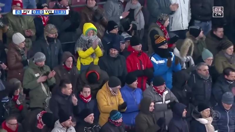 Lennart Thy. Ovations (PSV Eindhoven - VVV Venlo) (17.03.2018)