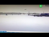 Момент падения Ан-2 в Нарьян-Маре