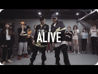 1million dance studio alive - lil jon (ft. offset & 2 chainz) / jinwoo yoon choreography