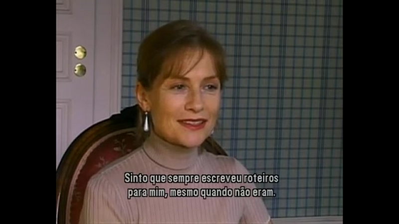 ISABELLE HUPPERT INTERVIEW MERCI POUR LE CHOCOLAT 2000