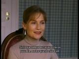 ISABELLE HUPPERT INTERVIEW MERCI POUR LE CHOCOLAT 2000