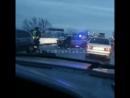 30.01.18 ДТП на трассе Новороссийск - Краснодар перед поворотом на Неберджай.