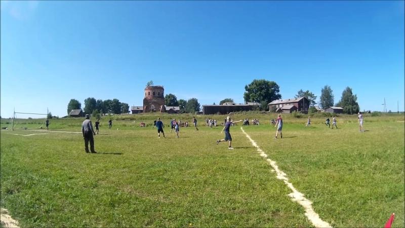Футбол Нижняя Тойма - Авнюга 1-й период 1-я часть