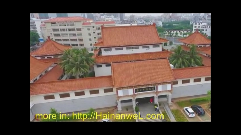 Museum of Ancient Chinese Culture in Haikou, Hainan Island, China