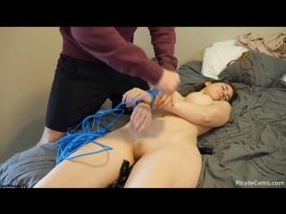 Ashleyalban - bound and ass fucked (brazzers, xxx, порно, анал, anal, porno, сиськи, жопа, mofos, manyvids, ashley alban )