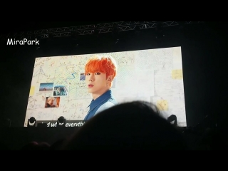 [VK][180617] MONSTA X fancam VCR @ The 2nd World Tour: The Connect in London