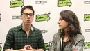 Tatiana Maslany and Jordan Gavaris 'Orphan Black' Interview 23 03 2013