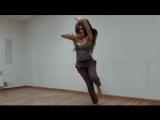 Свободный танец с элементами Afro Jazz_Импровизация