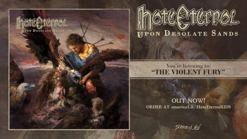 Hate Eternal - Upon Desolate Sands (2018) Full Album stream!