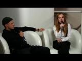 Юлия Савичева и Олег Майами на презентации нового шоу «ПЕСНИ» канала ТНТ