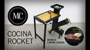 Como hacer estufa Rocket Paso a paso Handmade rocket stove