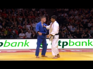 Grand-Slam Paris 2018 final -73 kg GJAKOVA Akil KOS-SHAVDATUASHVILI Lasha GEO